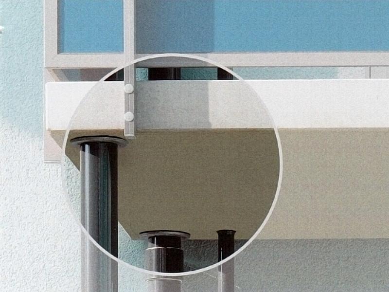 betonová podesta